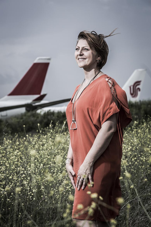 Portrait de Nathalie Candalot, dirigeante du groupe Agiliteam